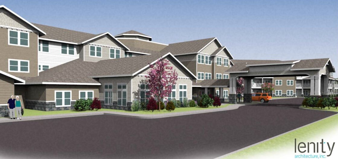 Montgomery township retirement residence lenity architecture for Local residential architects near me