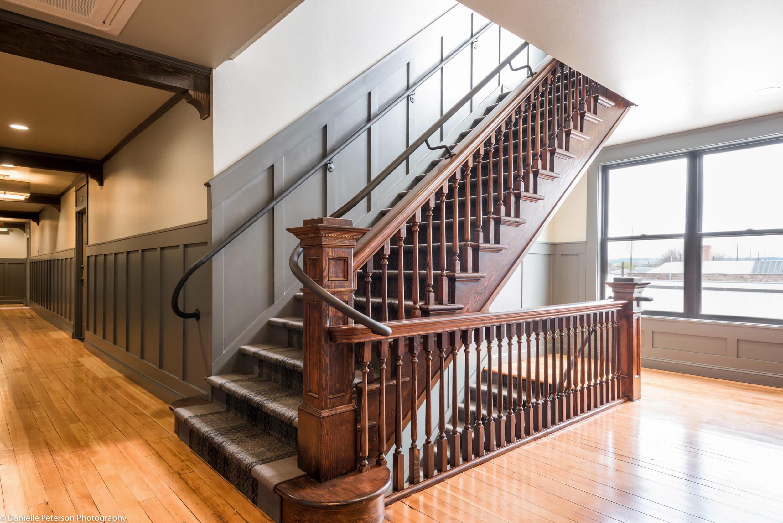 The Tieton Stairwell