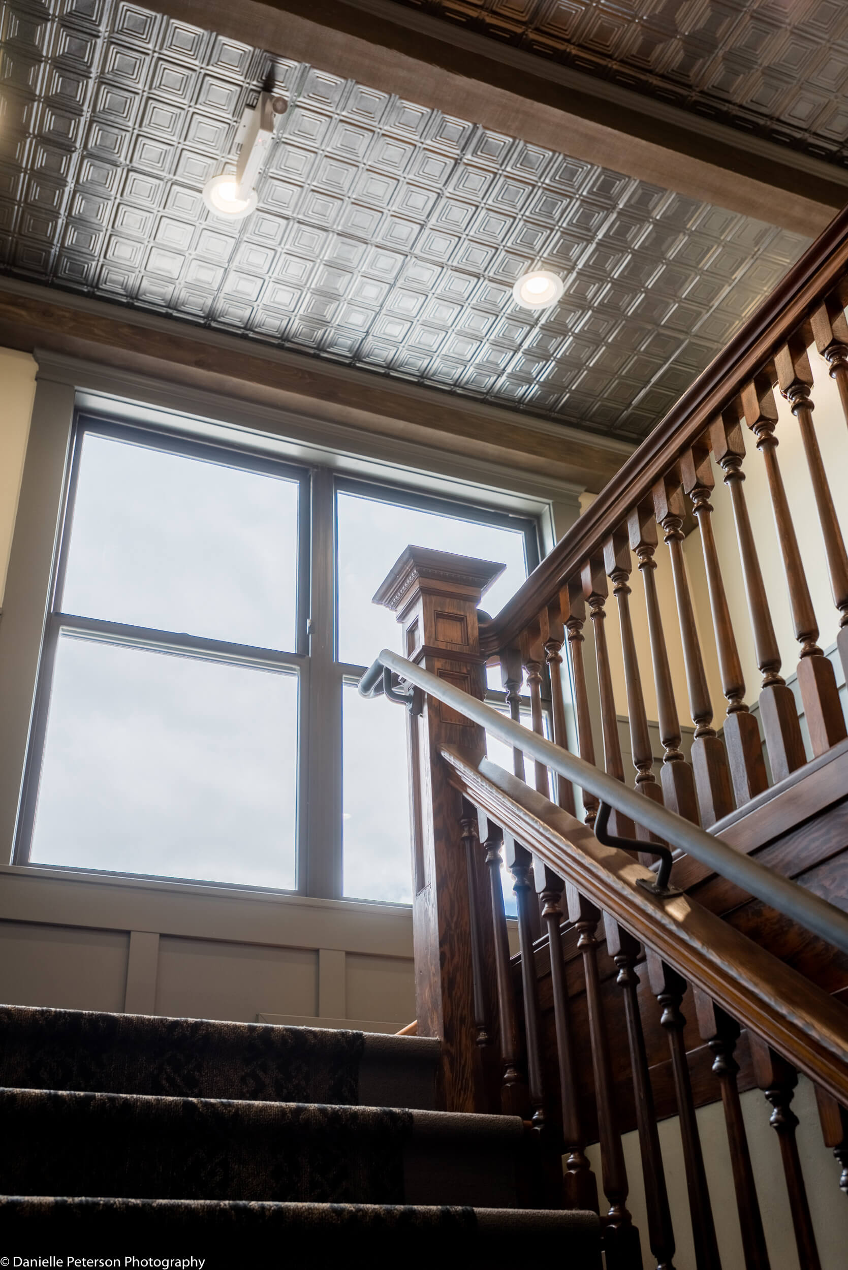 The Tieton Lobby Stairs