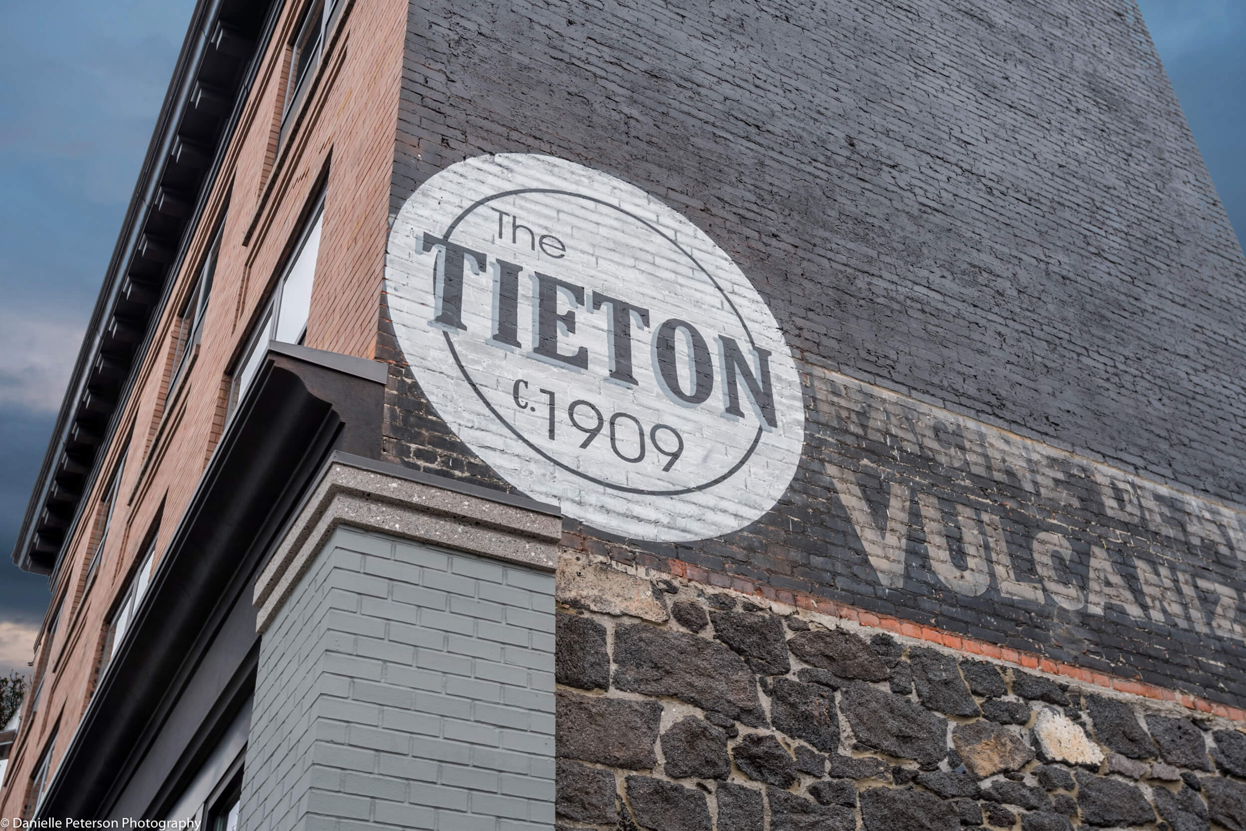 The Tieton sign